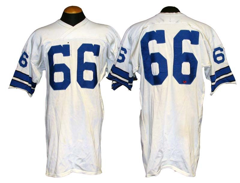 1970-71 George Andrie Dallas Cowboys Game-Used Jersey . c243db79d