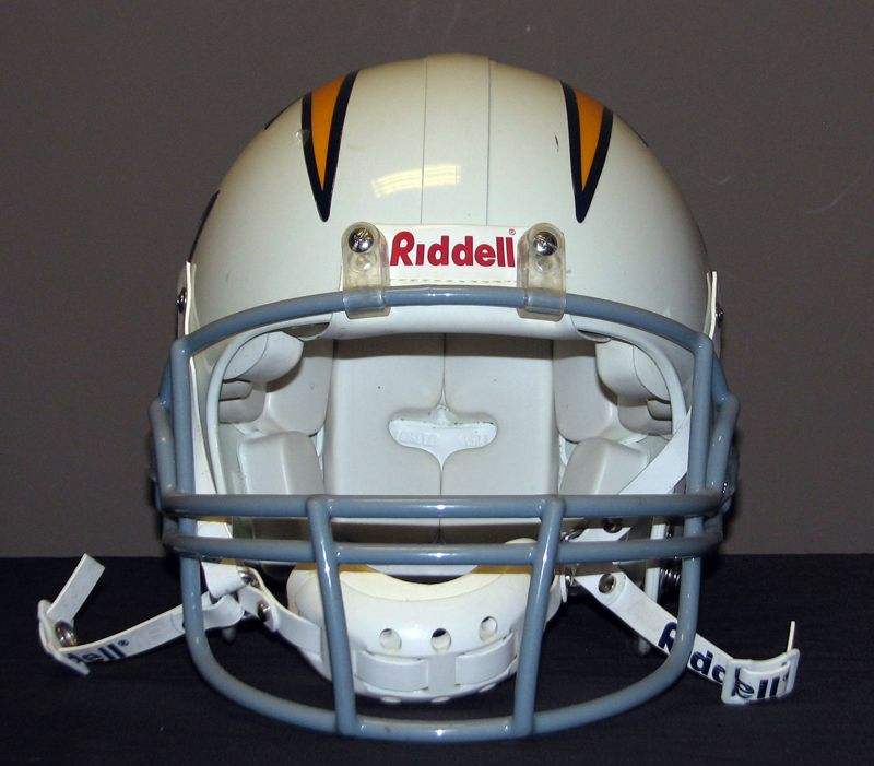 San Diego Chargers Helmets: 2005 Keenan McCardell San Diego Chargers Game
