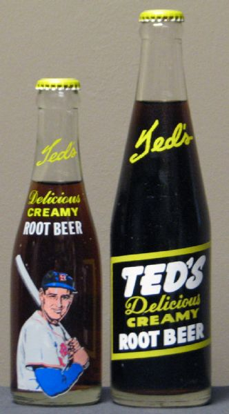 Lot Detail 1960s Ted S Creamy Root Beer Unopened Bottle