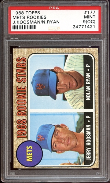 nolan ryan, graded card, baseball card