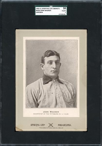 john wagner, sporting life, baseball cards