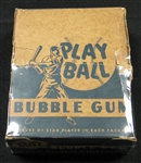 vintage baseball cards, 1948 bowman, bbce unopened, wax box