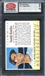 1963 Post Cereal #121 Sandy Koufax SCD 7 NM