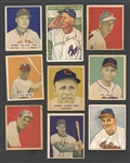 1949-52 Bowman Baseball Small Shoebox Collection of (70) Cards