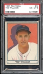 1941 Play Ball #14 Ted Williams PSA 6 EX/MT