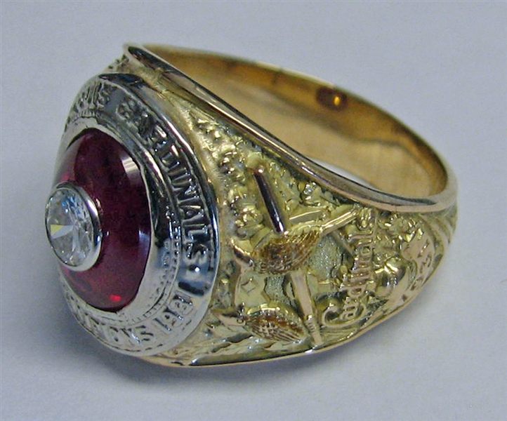 Spectacular Jim Bottomley 1931 St. Louis Cardinals World Series Championship Ring