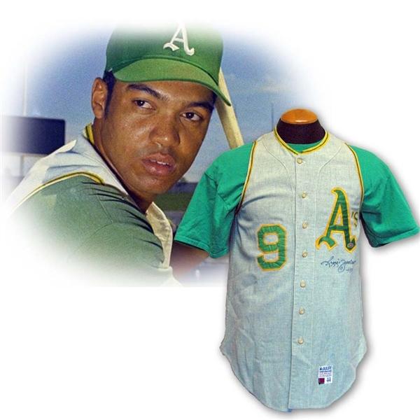 best cheap 2c497 bab8c Lot Detail - 1969-70 Reggie Jackson Oakland A's Game Worn ...