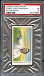 1909 E102 Set of 25 Christy Mathewson PSA 5 EX