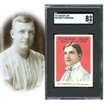 1915 Cracker Jack #88 Christy Mathewson SGC 88 NM/MT 8