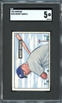 1951 Bowman #253 Mickey Mantle SGC 60 EX 5