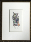 "Jerry Garcia Signed ""Squirrel Maze"" Lithographic Print 4/500 (J. Garcia 1992)"