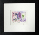 "Jerry Garcia Signed ""Sea Anemone"" Offset Lithography 150/500 (J. Garcia 1992)"