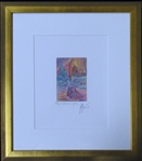 "Jerry Garcia Signed ""Northern Lights"" Offset Lithography 49/500 (J. Garcia c. 1990)"