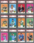 1969 Topps Football Set #10 on PSA Set Registry with 8.47 Set Rating