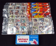 1981 Topps Football Unopened Lot to Include: (1) Unopened Vending Box (BBCE) and (15) Unopened Rack Packs