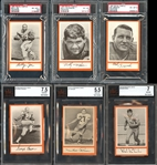 1967 Dolphins Royal Castle Group of (11) Cards All Graded