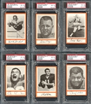 1967 Royal Castle Dolphins Partial Set (17/27) All PSA/BVG Graded