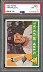1960 Topps #250 Stan Musial PSA 8 NM/MT