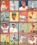 1933 Goudey Partial Set (100/240) Includes Hall of Famers