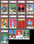 1969 Topps Football Near Complete Set (261/263)