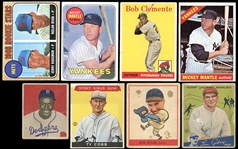 1930s-60s Star Card Group Featuring Cobb, J. Robinson, Mantle, Ryan Etc.