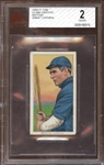1909-11 T206 Sweet Caporal 350/30 Clark Griffith Batting BVG 2 GOOD