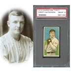 1919 T213 Coupon Cigarettes Type 3 Christy Mathewson PSA 8 NM/MT