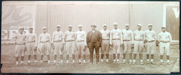 Lot Detail 1916 Chicago American Giants Panoramic Psadna