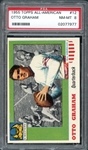 1955 Topps All-American #12 Otto Graham PSA 8 NM/MT