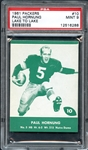 1961 Packers #10 Paul Hornung Lake to Lake PSA 9 MINT