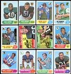 1968 Topps Football Complete Set Plus Pin-up Posters