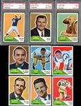 1960 Fleer Football High Grade Complete Set Plus Extras