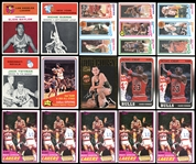1961-88 Basketball Grab Bag Group Includes E. Baylor Rookie Group of (26) Cards