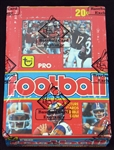 1979 Topps Football Full Unopened Wax Box BBCE