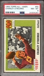 1955 Topps All-American #90 Charley ORourke PSA 8 NM/MT