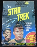 1976 Topps Star Trek Unopened Wax Box BBCE