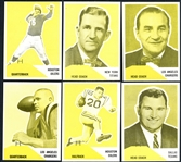 1960 Fleer Football Progressive Proof Complete Set