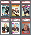 1971-1984 Terry Bradshaw Complete Basic Player Set #7 on PSA Player Registry