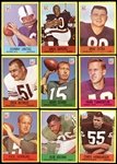 1967 Philadelphia Football Complete Set