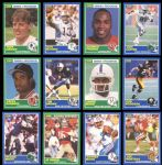 1989 Score Football Massive Group of Approximately (1800) with Aikman RC