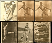1910-1913 Sporting News Supplements M101-2 Group of (6) Includes Plank, Walsh, Chance, Etc.