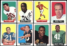1964 Topps Football Large Group of (300) Cards