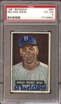 1951 Bowman #80 Pee Wee Reese PSA 4 VG/EX