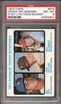 1973 Topps #615 Mike Schmidt PSA 8 NM/MT