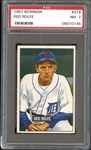 1951 Bowman #319 Red Rolfe PSA 7 NM