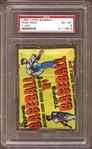1956 Topps Baseball Unopened 1 Cent Wax Pack PSA 6 EX/MT