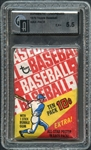 1970 Topps Baseball Wax Pack GAI 5.5 EX+