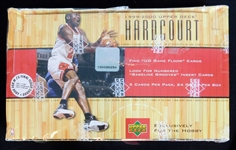 1999-2000 Upper Deck Hardcourt Unopened Wax Box