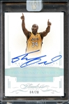 2014-15 Panini Flawless Finishes #FF-SO Shaquille ONeal Auto 4/20