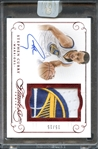 2014-15 Panini Flawless Game Worn Stephen Curry Auto 15/15